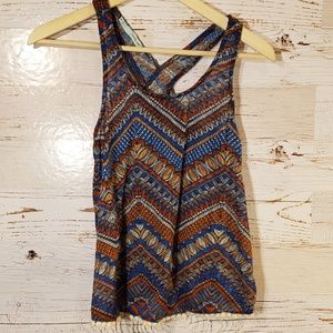 Maurices open back tank top